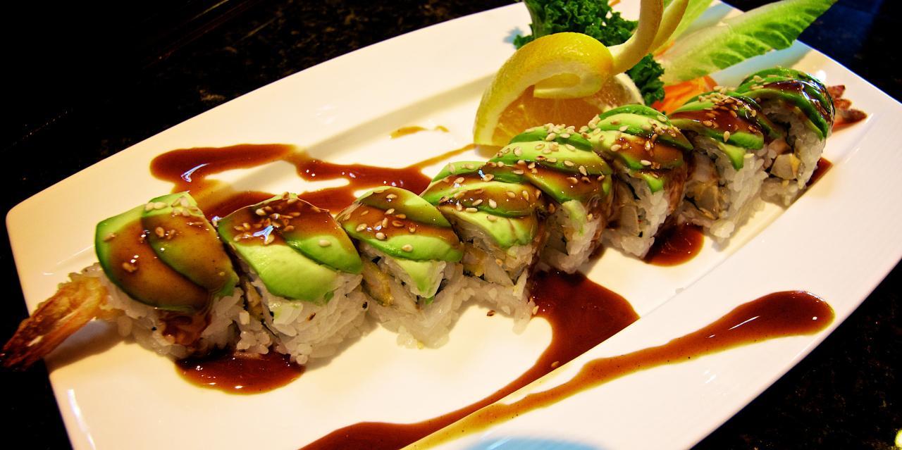 Sushin Japanese Restaurant Menu